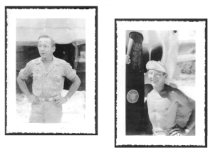 Photos of Dad in the South Pacific