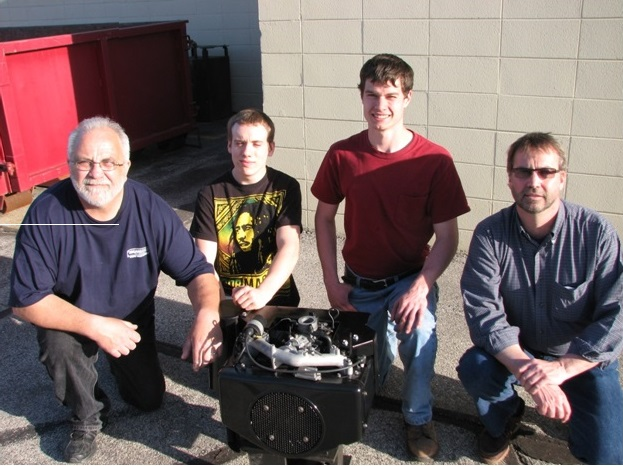 FF Tractor Motor rebuild team